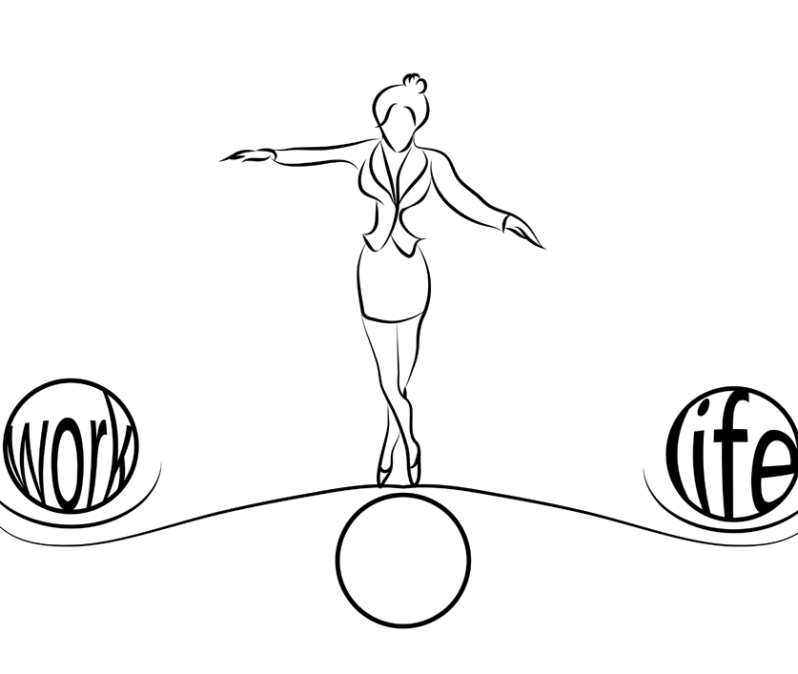 bigstock-Woman-Balance-Of-Life-66377896